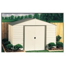 Milford 10 ft. W x 8 ft. D Metal Storage Shed