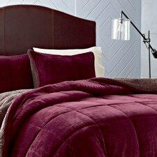 Premium Fleece Reversible Comforter Set