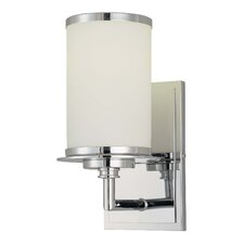 Glass Note 1-Light Wall Sconce