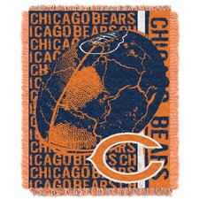 NFL Chicago Bears Triple Woven Jacquard Throw Blanket