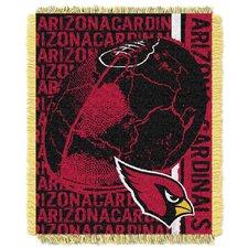 NFL Arizona Cardinals Triple Woven Jacquard Throw Blanket