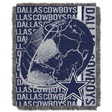 NFL Dallas Cowboys Triple Woven Jacquard Throw Blanket