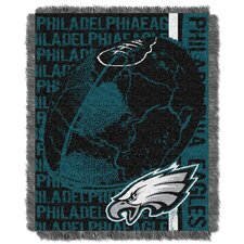 NFL Philadelphia Eagles Triple Woven Jacquard Throw Blanket