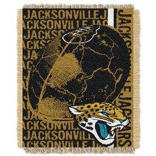 NFL Jacksonville Jaguars Triple Woven Jacquard Throw Blanket