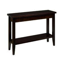 Downtown Sofa Table with Shelf by Caravel