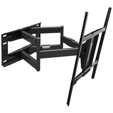 """Double Cantilever Articulating Arm/Swivel/Tilt  Wall Mount for 42"""" - 65"""" Screens"""