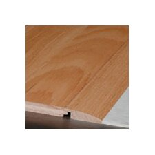 """0.75"""" x 2.25"""" x 78"""" Red Oak Overlap Reducer in Saddle"""