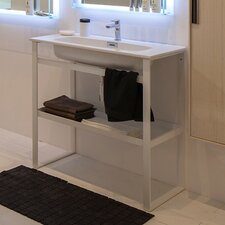 Linea 35 Single Free Standing Bathroom Vanity Set by WS Bath Collections