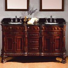 Geneva 60 Double Bathroom Vanity Set by Ove Decors