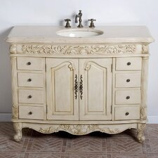 Durham 48 Single Bathroom Vanity Set by B&I Direct Imports