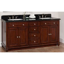 Ely 72 Double Bathroom Vanity Set by Lanza