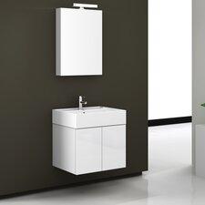 Smile 23.2 Single Bathroom Vanity Set with Mirror by Iotti by Nameeks