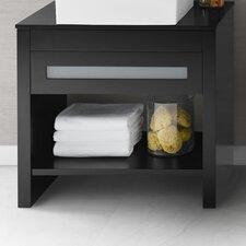 """Kendra 36"""" Bathroom Vanity Base Cabinet in Black"""