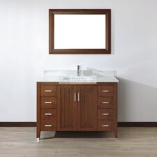 Jacchi 48 Single Bathroom Vanity Set with Mirror by Bauhaus Bath