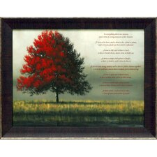A Time for Everything by Tim Gagnon Framed Painting Print