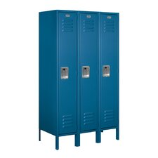 1 Tier 3 Wide School Locker