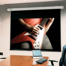 Salara White Electric Projection Screen