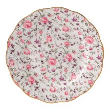 Rose Confetti Formal Vintage Bread and Butter Plate