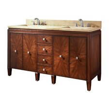 Brentwood 61 Double Bathroom Vanity Set by Avanity