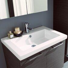 Light 1 Self Rimming Bathroom Sink