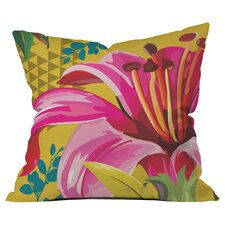 Juliana Curi Mix Flower 2 Outdoor Throw Pillow by DENY Designs