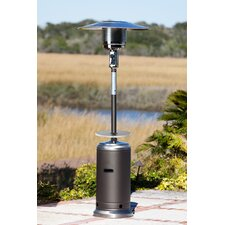 Stainless Steel Standard Series 44,000 BTU Propane Patio Heater