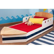 Boat Convertible Toddler Bed