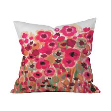Natasha Wescoat Brightly Blooming Outdoor Throw Pillow by DENY Designs