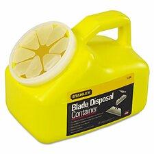 Blade Disposal 0.5 Gallon Trash Can
