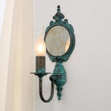 Classic Candle 1-Light Wall Sconce