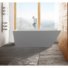 Scarlet 59 x 31.5 Soaking Bathtub by Malta