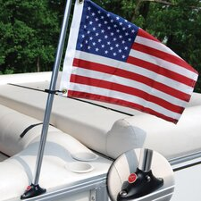 Flag and Flagpole Set