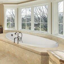 Designer Carli 60 x 36 Whirlpool Bathtub by Hydro Systems
