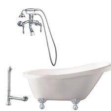 Newton Soaking Bathtub by Giagni