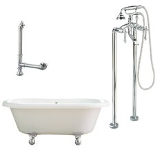 Portsmouth Dual Soaking Bathtub