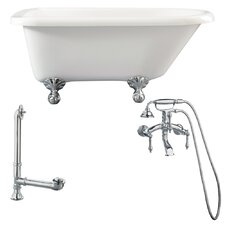 Augusta Roll Top Soaking Bathtub