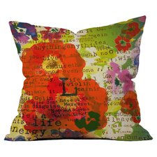 Irena Orlov's Poppy Poetry 3 Outdoor Throw Pillow by DENY Designs