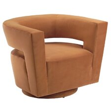 Galactica Return Swivel Barrel Chair by Lazar