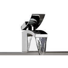 Quarto Single Hole Waterfall Bathroom Faucet with Single Handle