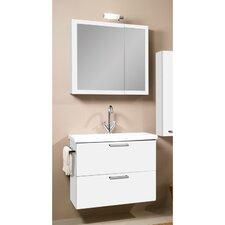 Luna 30 Single Bathroom Vanity Set with Mirror by Iotti by Nameeks