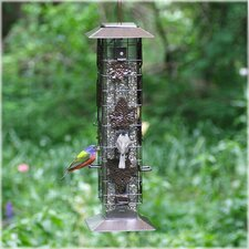 Squirrel Be Gone Caged Tube Bird Feeder (Set of 2)