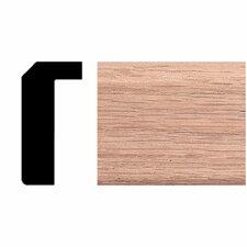 3/4 in. x 1-1/2 in. x 8 ft. Oak Counter Trim Moulding