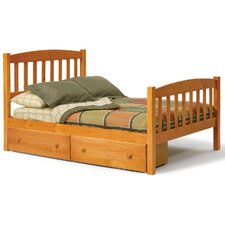 Slat Bed with Storage by Chelsea Home