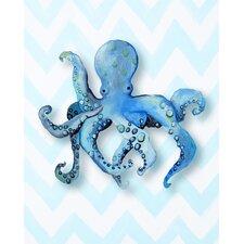 Nautical Octopus Paper Print