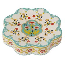 Sasha Bright Ceramic Soap Dish by Creative Bath