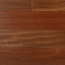 "3"" Engineered Santos Mahogany Hardwood Flooring in Brown"