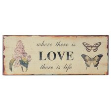 Love' Graphic Art Plaque by Wilco Home