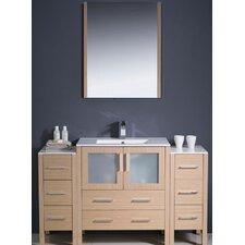 Torino 54 Single Modern Bathroom Vanity Set with Mirror by Fresca