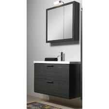 Luna 39 Single Bathroom Vanity Set with Mirror by Iotti by Nameeks