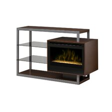 "Hadley 53"" TV Stand with Electric Fireplace"